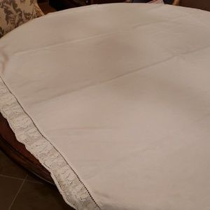 Rachel Ashwell Shabby Chic Cabbage Rose Tablecloth